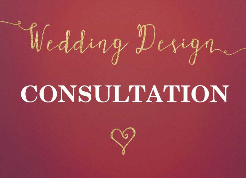 Wedding Design consultation slide
