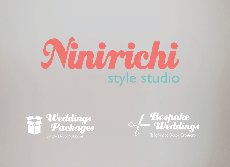 ninirichi wedding banner plain